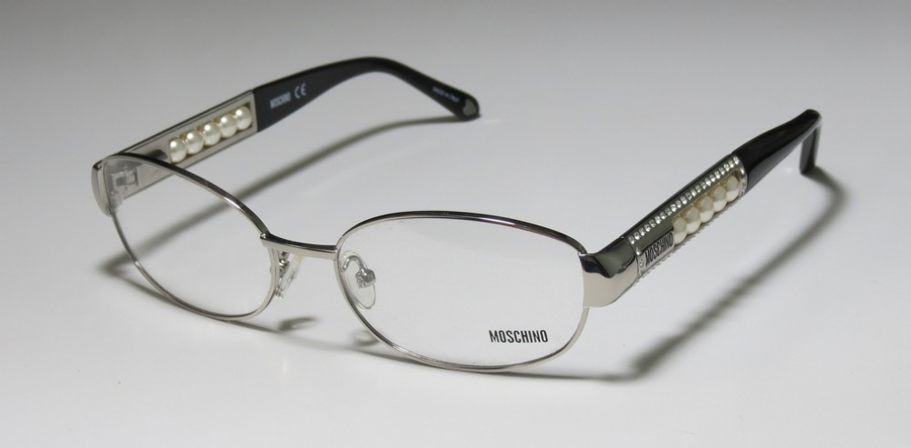 MOSCHINO 06601 in color SILVERBLACK