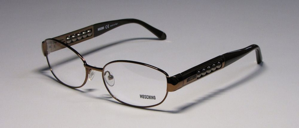 MOSCHINO 06603 in color SHINYDARKBROWN