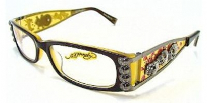 ED HARDY EHO 712 in color SKY-AMBER