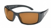 COSTA DEL MAR BLACKFIN 400 GUN-AMB-GLASS-400BL