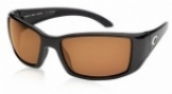 COSTA DEL MAR BLACKFIN CR39/400 in color MT-BLK-AMB-CR39-400BL
