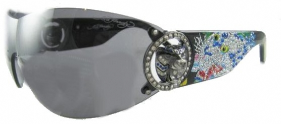 ED HARDY EHS 030 in color BLACK
