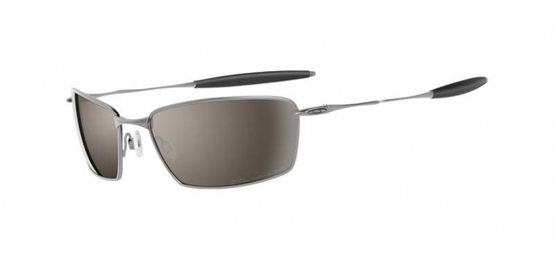 OAKLEY POLARIZED TITANIUM SQUARE WHISKER in color 12965