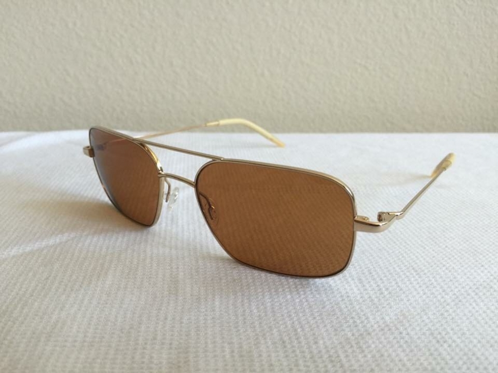 OLIVER PEOPLES VICTORY 55 GLD