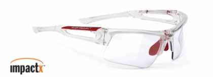 RUDY PROJECT EXOWIND IMPACTX in color CRYSTAL-IMPACTX-PHOTOCHROMIC-CLEAR-LENS