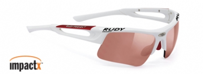 RUDY PROJECT EXOWIND IMPACTX RACING-WHITE-GLOSS-IMPACT-PHOTOCHROMIC-RED-LENS