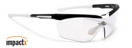 RUDY PROJECT GENETYK IMPACTX in color BLACK-GLOSS-IMPACTX-PHOTOCHROMIC-CLEAR-LENS