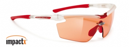 RUDY PROJECT GENETYK IMPACTX FROZEN-CRYSTAL-IMPACTX-PHOTOCHROMIC-RED-LENS