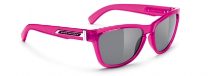 RUDY PROJECT JAZZ in color CRYSTAL-PINK-SMOKE-BLACK
