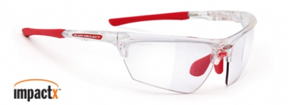 RUDY PROJECT NOYZ IMPACT X in color CRYSTAL-IMPACTX-PHOTOCHROMIC-CLEAR-LENS
