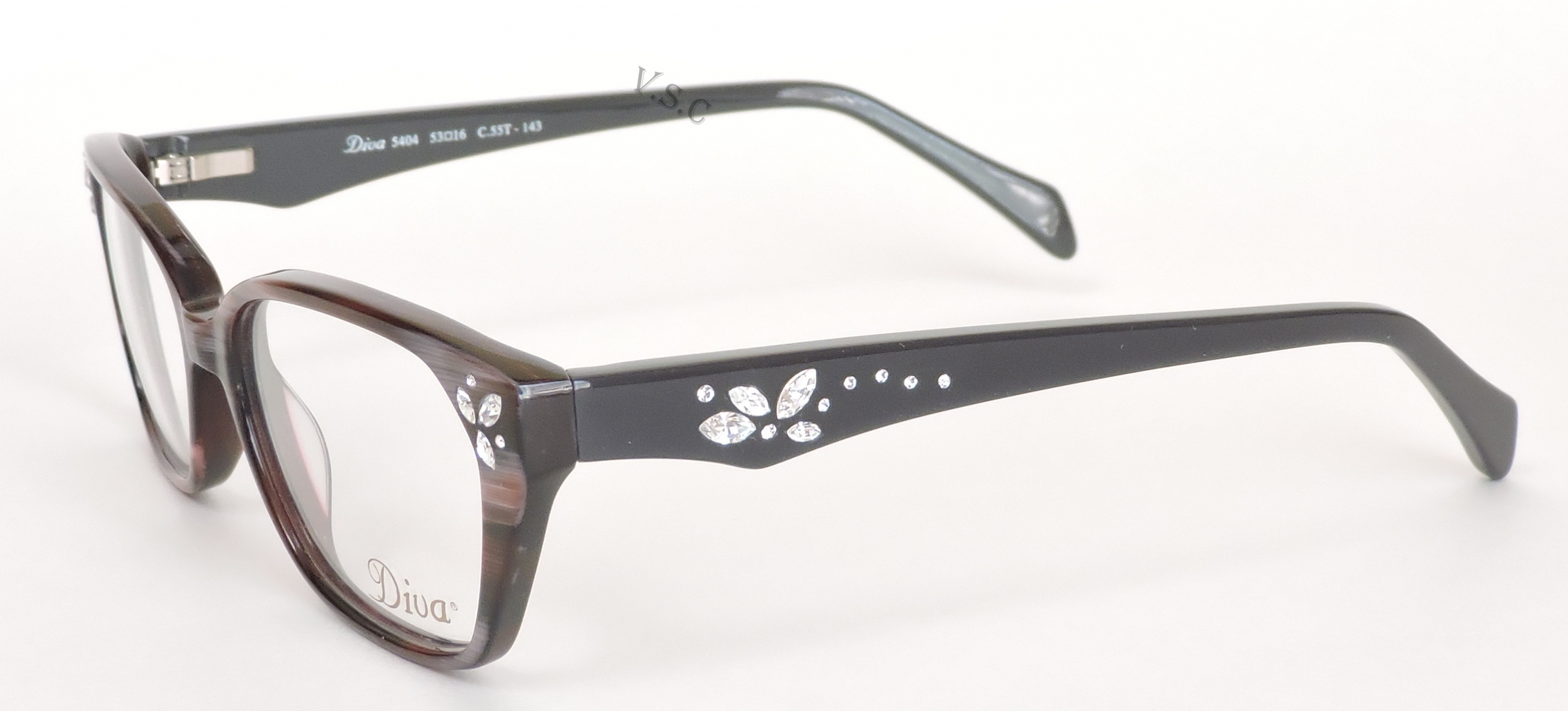 Buy Diva Eyeglasses directly from OpticsFast.com