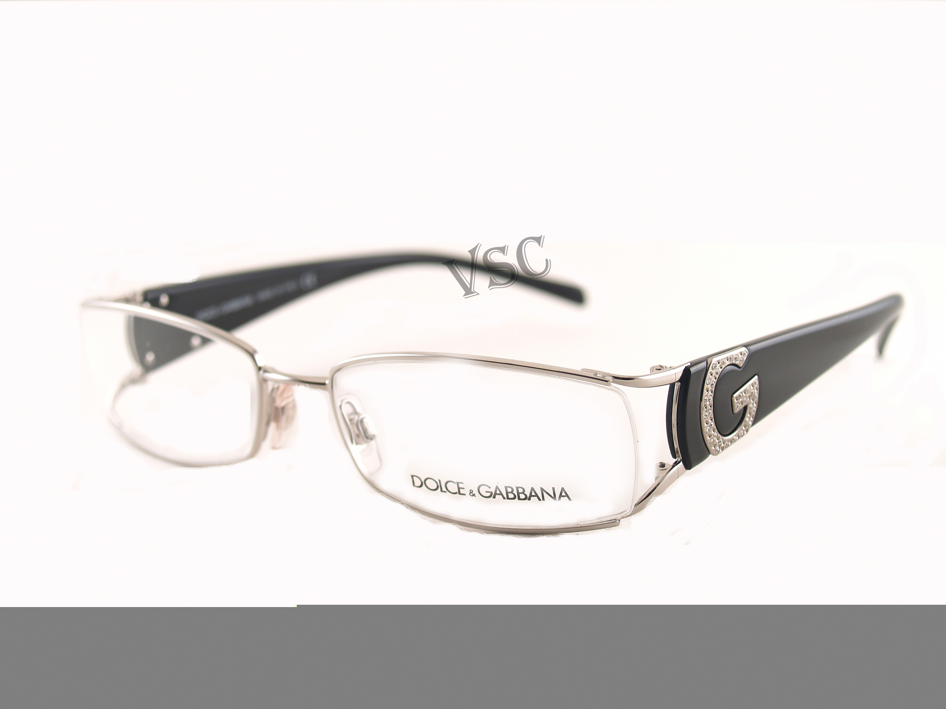 Dolce And Gabbana Metal Glasses Frames