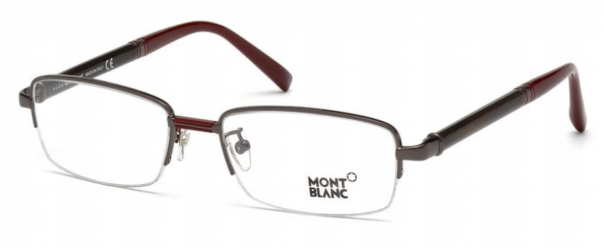 9b7b2d134c MONT BLANC MB 434 008 008 clear shiny gunmetal