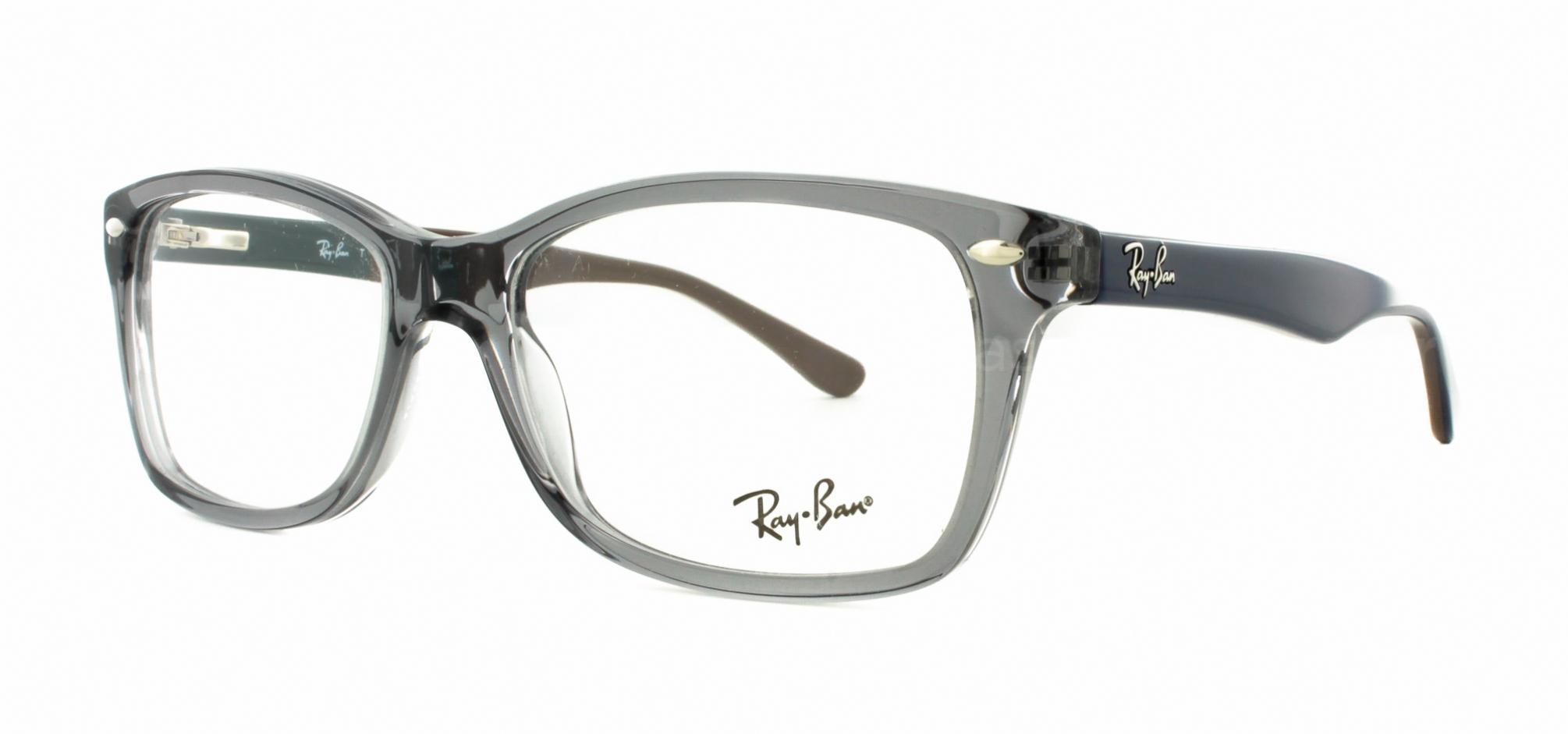 ae29e6b34d Ray Ban Rx 5228 Eyeglasses 5546 Grey - Bitterroot Public Library