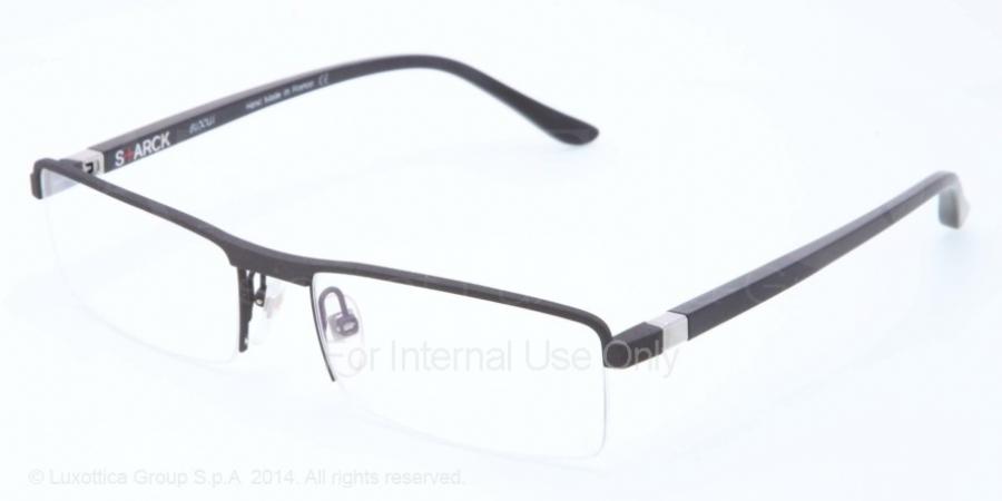 Eyeglasses Starck eyes SH 1365 M 0006 BLACK//ORANGE