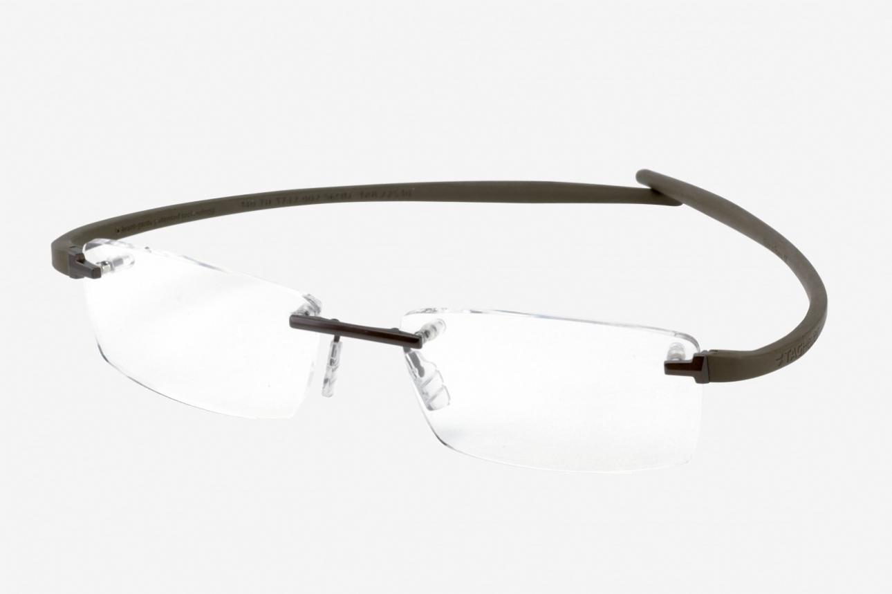 9b9a481c72 Tag Heuer Zenith Rimless Curve 5101 Sunglasses