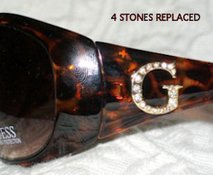 Example of Completed Crystal Replacement Work at OpticsFast.com