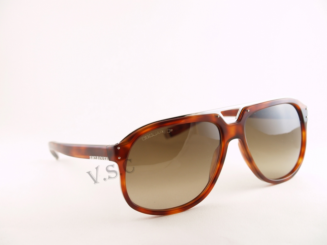 DSQUARED Sunglasses 0005 in color 53P at Sears.com