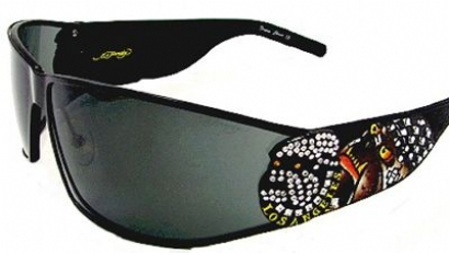 ED HARDY Sunglasses EHS 018 in color BLACK at Sears.com