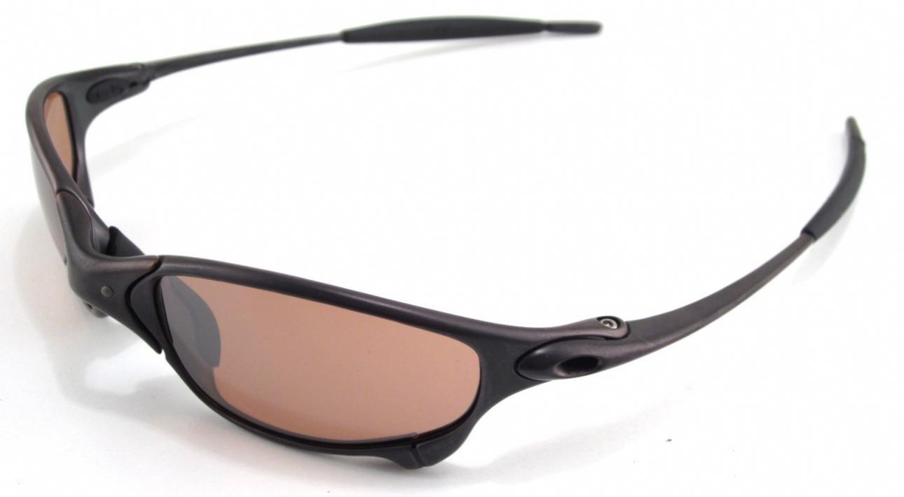 Oakley Juliet Plasma Ice Iridium Sunglasses