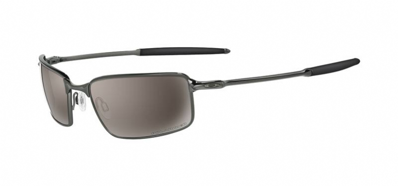 Oakley Polarized Titanium Square Wire Sunglasses