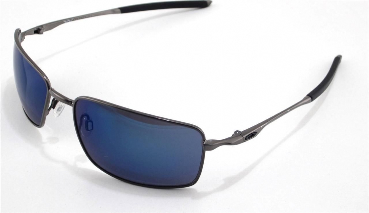 cbb9b7a260 Oakley Square Wire Sunglasses Mph Brushed Chrome Vr28 Black Iridium ...