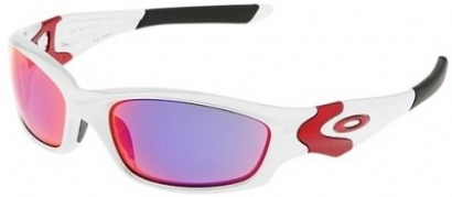 oakley sunglasses silver with blue flames  oakley straight jacket 04329