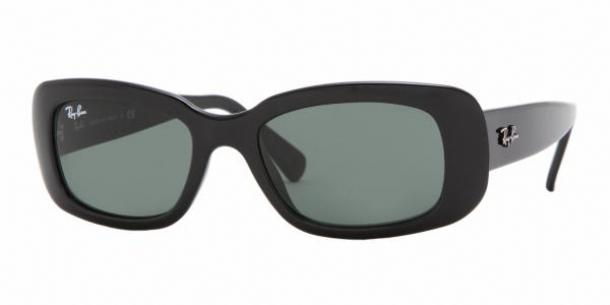 ray ban predator 1 sunglasses black_crystal green 4033