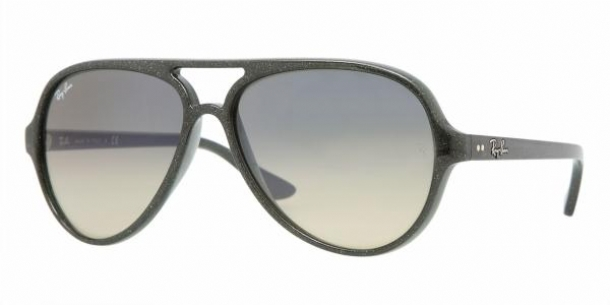 e546c814dc Ray Ban Sunglasses Cats Black Grey Frame Green