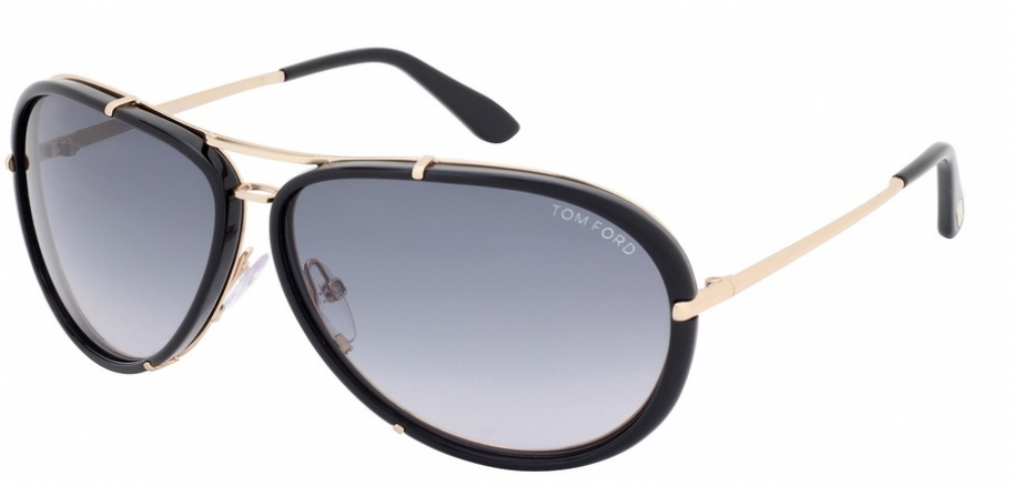 ac397d2a0ca79 TOM FORD CYRILLE TF109 28W 28W gray blue gradient rose gold black
