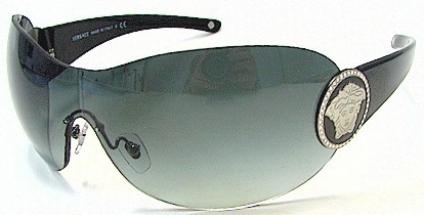 eb9ce1e1b045a VERSACE 4162B GB111 GB111 gray gradient shiny black